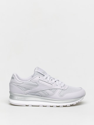 Reebok Cl Lthr Shoes Wmn (stegry/silvmt/white)