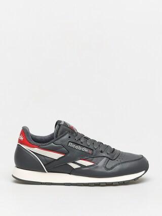 Reebok Cl Leather Mu Shoes (trugr7/chalk/radred)