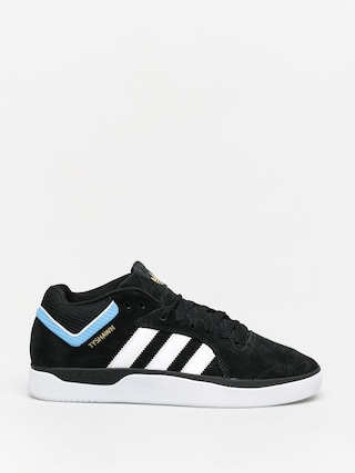 adidas Tyshawn Shoes (cblack/ftwwht/ltblue)
