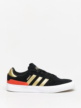 adidas Busenitz Vulc II Shoes (cblack/goldmt/solred)