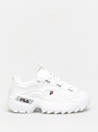Fila D Formation Shoes Wmn (white/fila navy/fila red)
