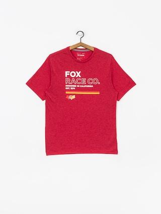 Fox Analog Tech T-shirt (chili)