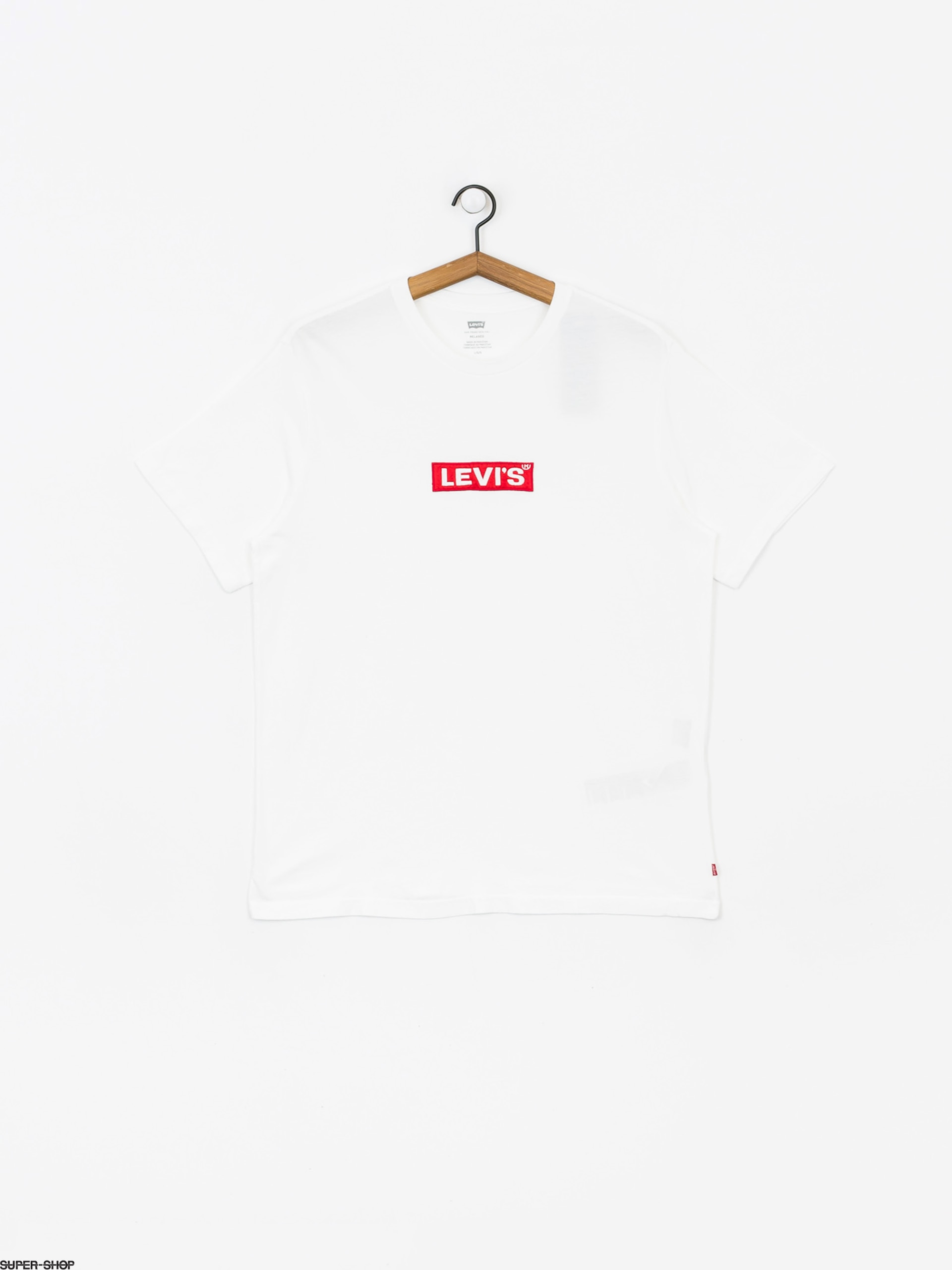 Levi's Relaxed Graphic Box Tab T shirt (white)