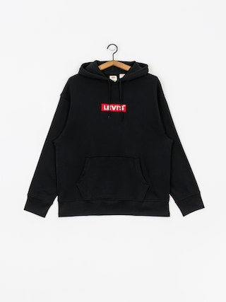 Levi's Relaxed Graphic Box Tab HD Hoodie (black)