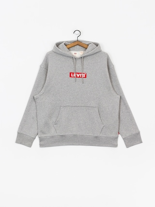 Levi's Relaxed Graphic Box Tab HD Hoodie (grey)