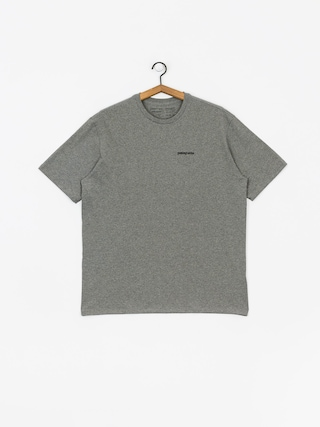 Patagonia Logo Responsibili T-shirt (gravel heather)