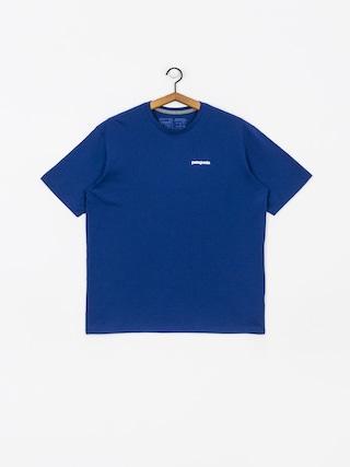 Patagonia Logo Responsibili T-shirt (superior blue)