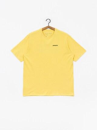Patagonia Logo Responsibili T-shirt (surfboard yellow)