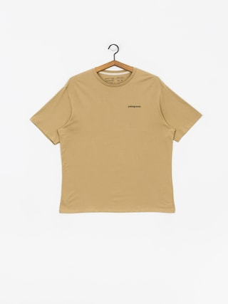 Patagonia Logo Organic T-shirt (classic tan)