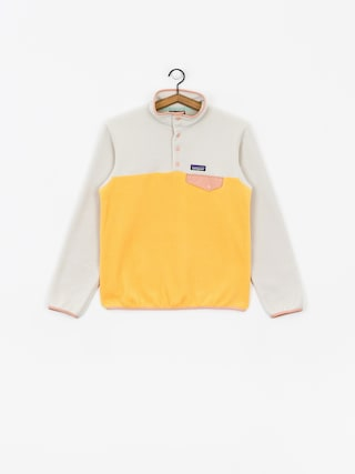 Patagonia Lightweight Synchilla Snap T Fleece Wmn (saffron)