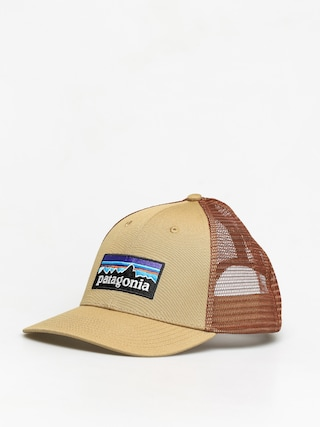 Patagonia P 6 Logo LoPro Trucker ZD Cap (classic tan)