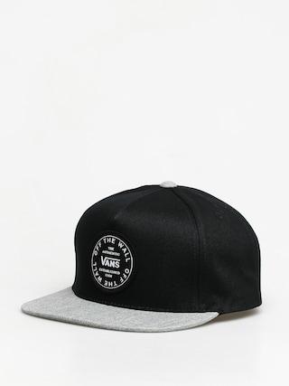 Vans Old Skool Circle ZD Cap (black/heather gray)