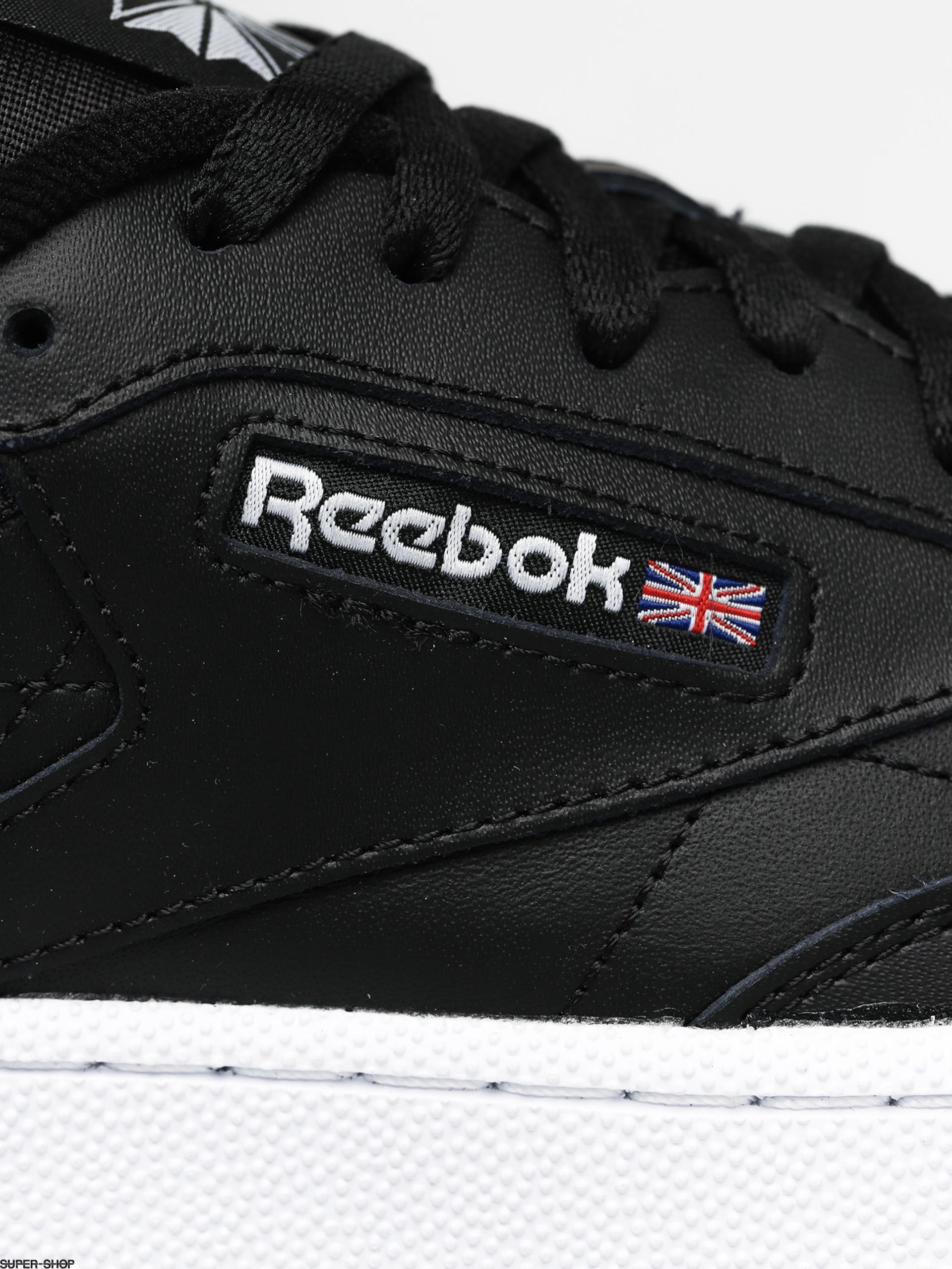 Reebok Club C 85 Shoes (black/white/gum)
