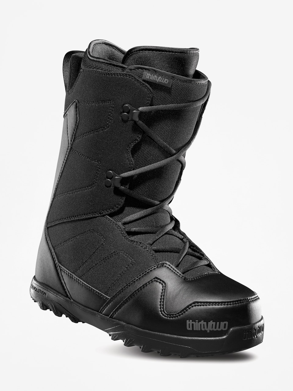 Black//Red 8.5 thirtytwo Session Womens 18 Snowboard Boots