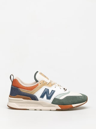 New Balance 997 Shoes (green/blue)