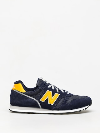 New Balance 373 Shoes (navy/yellow)