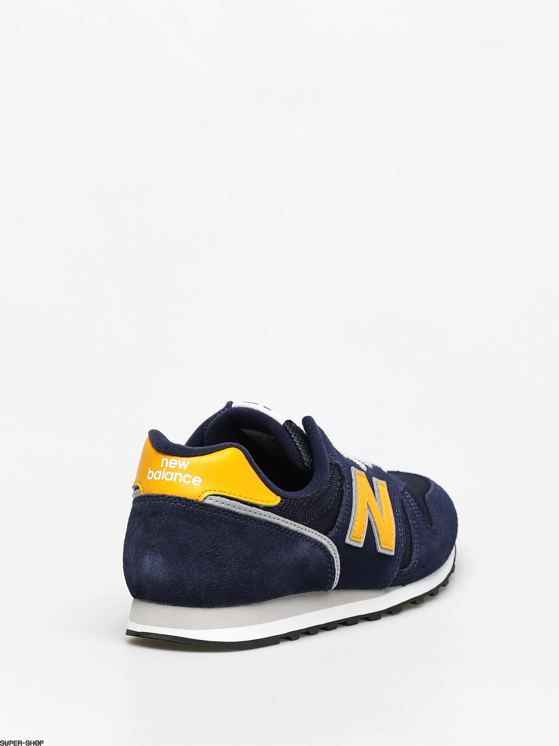 new balance 373 navy grey
