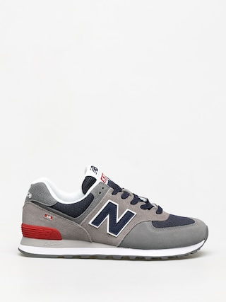 New Balance 574 Shoes (grey/navy)