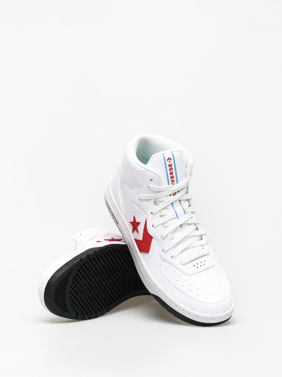 Converse Rival Mid Shoes (optical white)