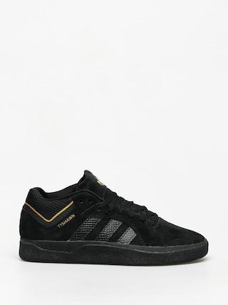 adidas Tyshawn Shoes (cblack/cblack/goldmt)