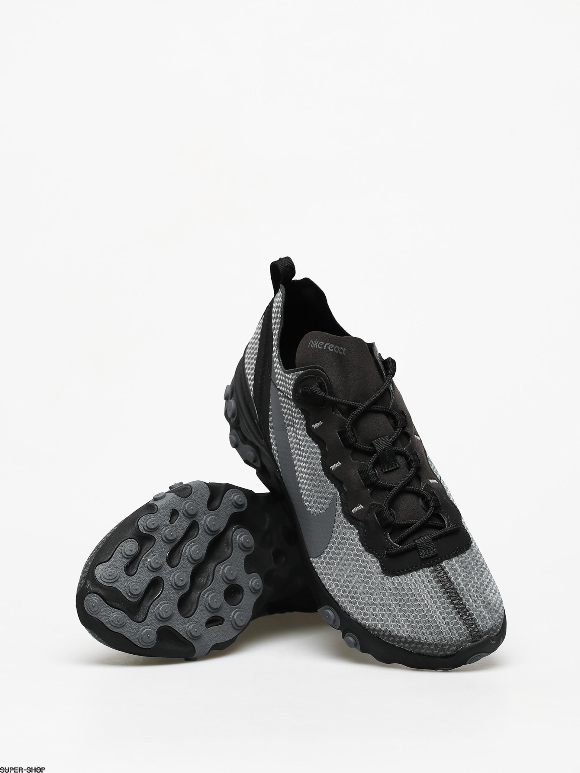 Convocar túnel relajado  Nike React Element 55 Se Shoes (black/dark grey)
