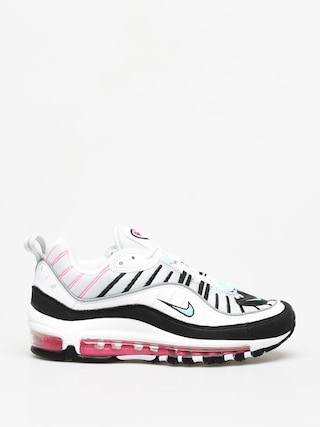 Nike Air Max 98 Shoes Wmn (pure platinum/aurora green black)