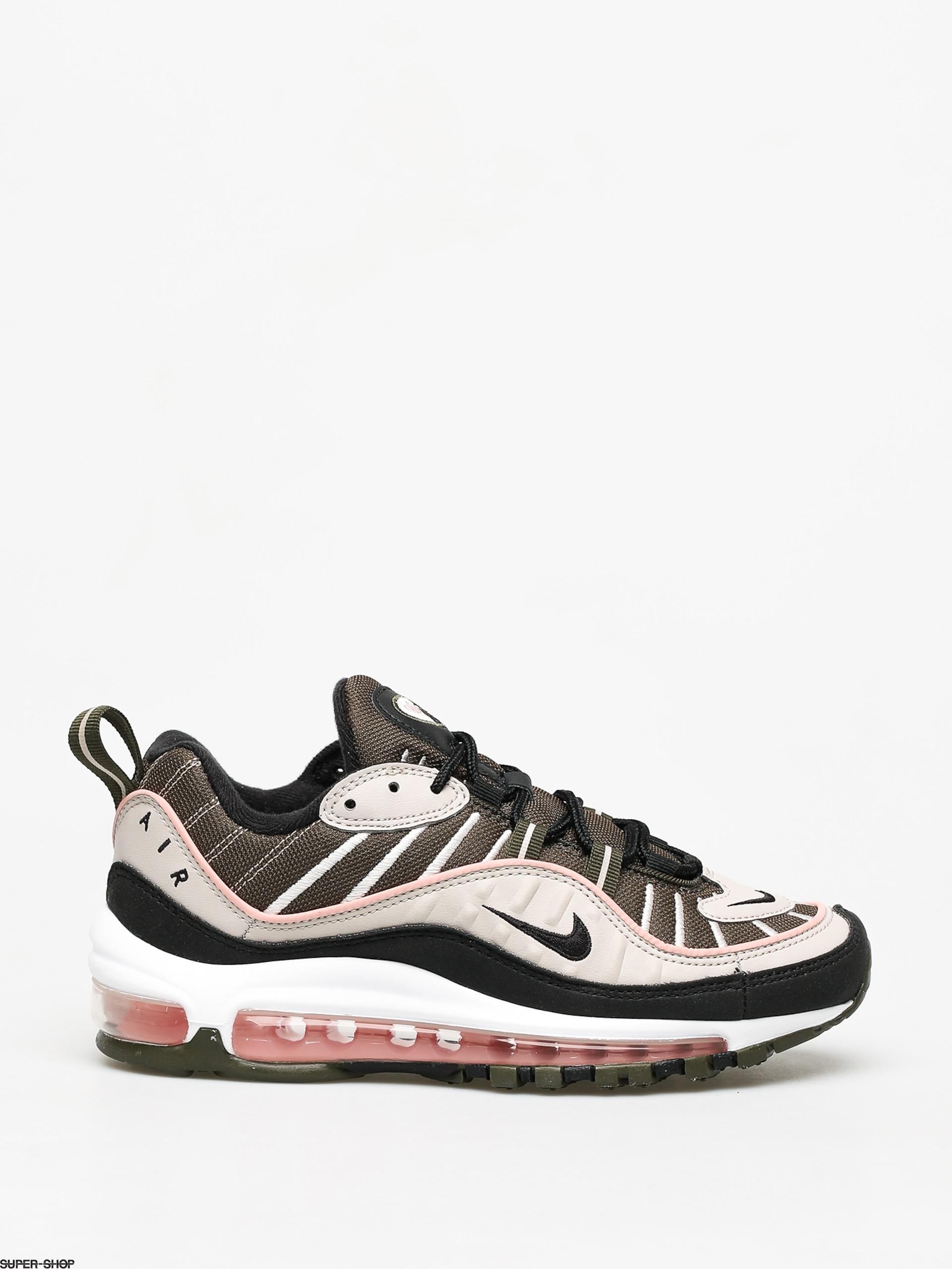 melocotón ligado sueño  Nike Air Max 98 Shoes Wmn (cargo khaki/black desert sand)