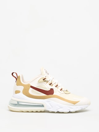 Nike Air Max 270 React Shoes Wmn (team gold/cinnamon club gold pale ivory)
