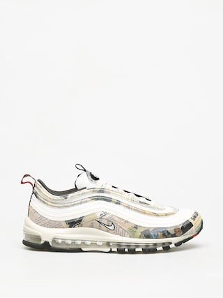 Nike Air Max 97 Shoes (sail/white black team orange)