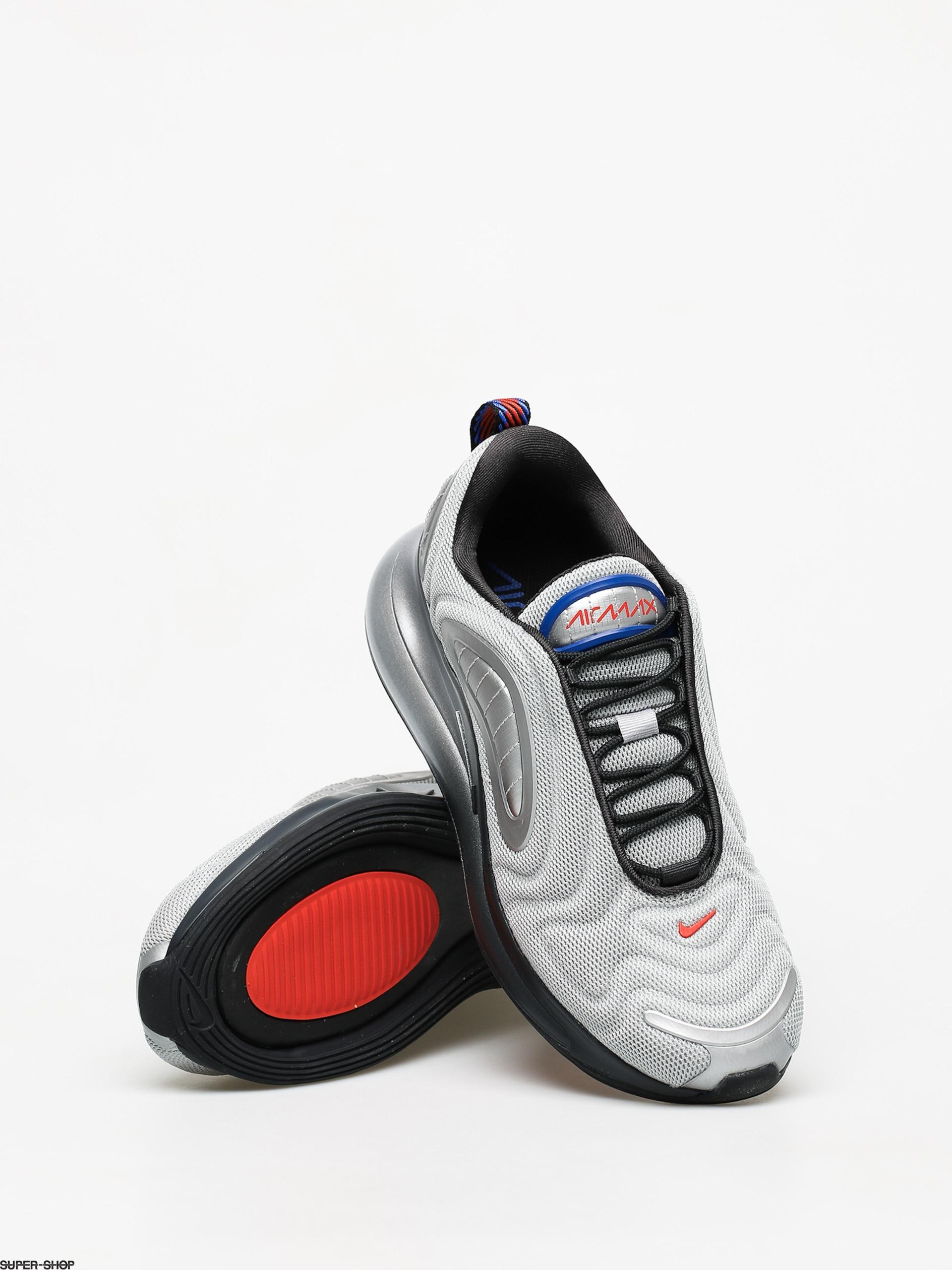 extinción Sin alterar Un fiel  Nike Air Max 720 Shoes (metallic silver/off noir cosmic clay)