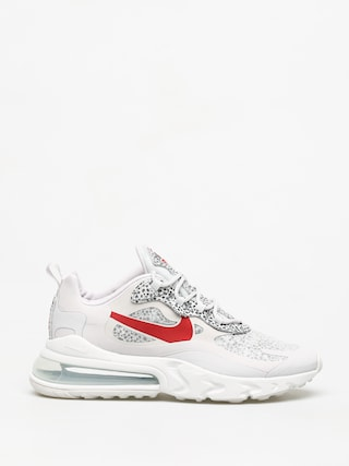 Nike Air Max 270 React Shoes (neutral grey/university red lt graphite)