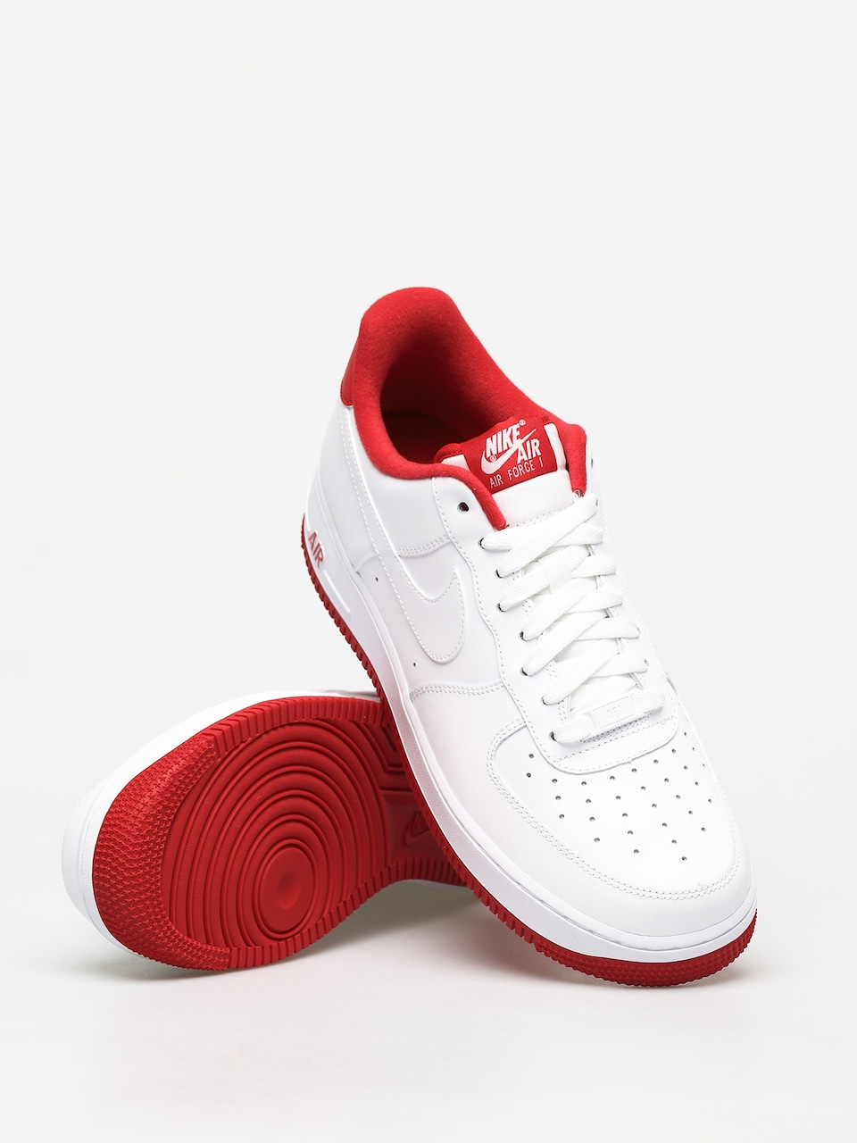 Nike Air Force 1 07 1 Shoes (whiteuniversity red)