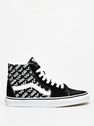 Vans Sk8 Hi Shoes (blk/true wht)
