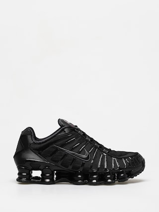 Nike Shox Tl Shoes (black/black mtlc hematite max orange)