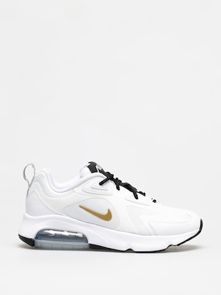 Nike Air Max 200 Shoes Wmn (white/metallic gold black)