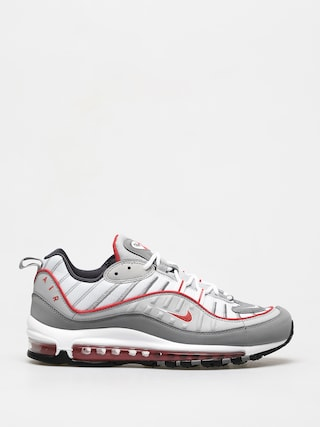 Nike Air Max 98 Shoes (particle grey/track red iron grey)