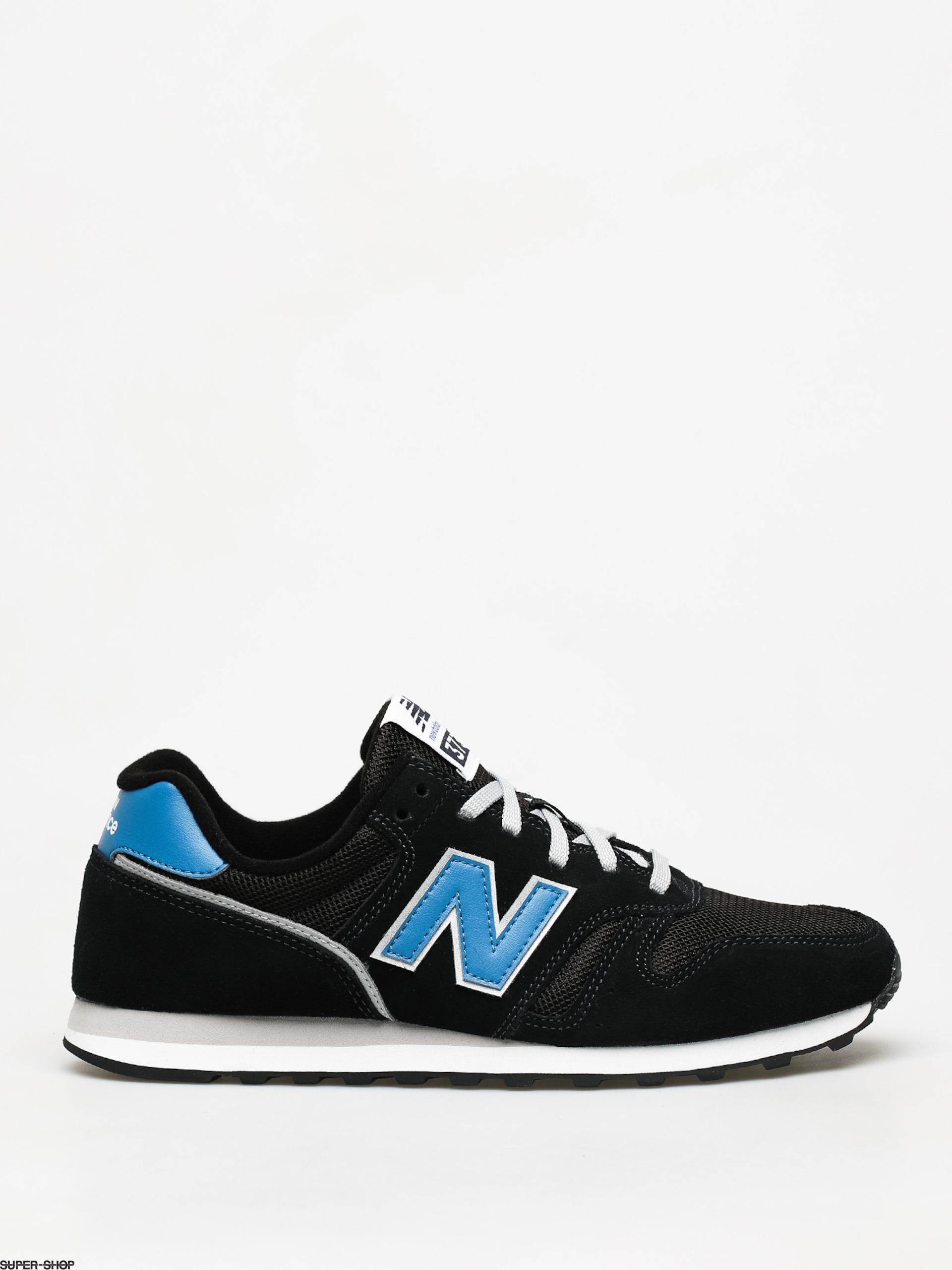 New Balance 373 Shoes (black/blue)