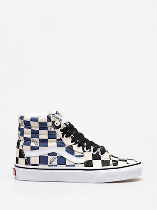 Vans Sk8 Hi Shoes (big check/bla)