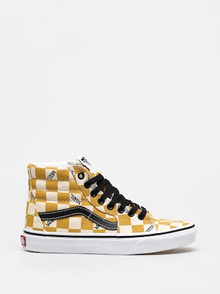 Vans Sk8 Hi Shoes (big check/ylk)