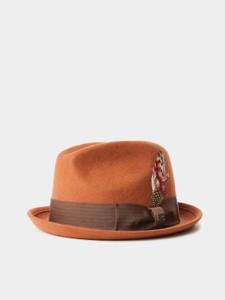 Brixton Gain Fedora Hat (rust)