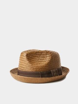 Brixton Castor Fedora Hat (sepia/brown)