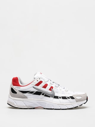 Nike P 6000 Shoes (white/particle grey university red)