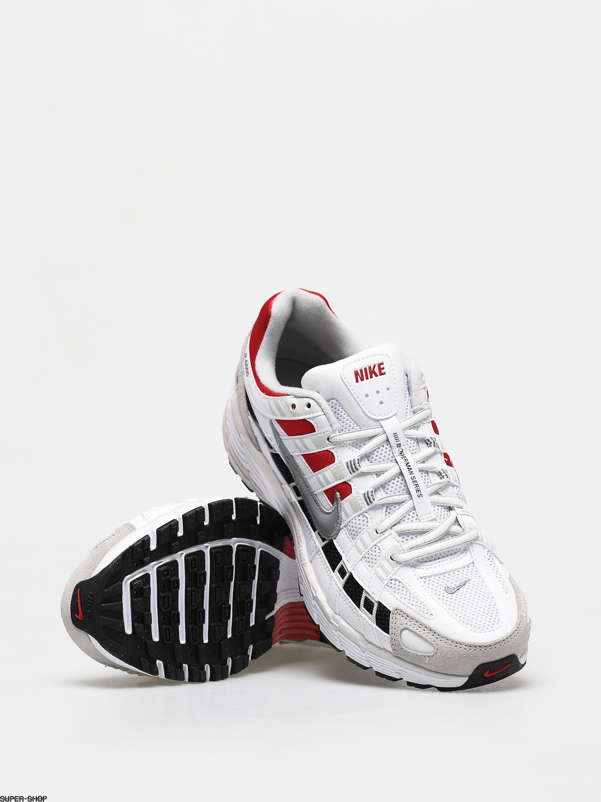 Nike P 6000 Shoes (white/particle grey