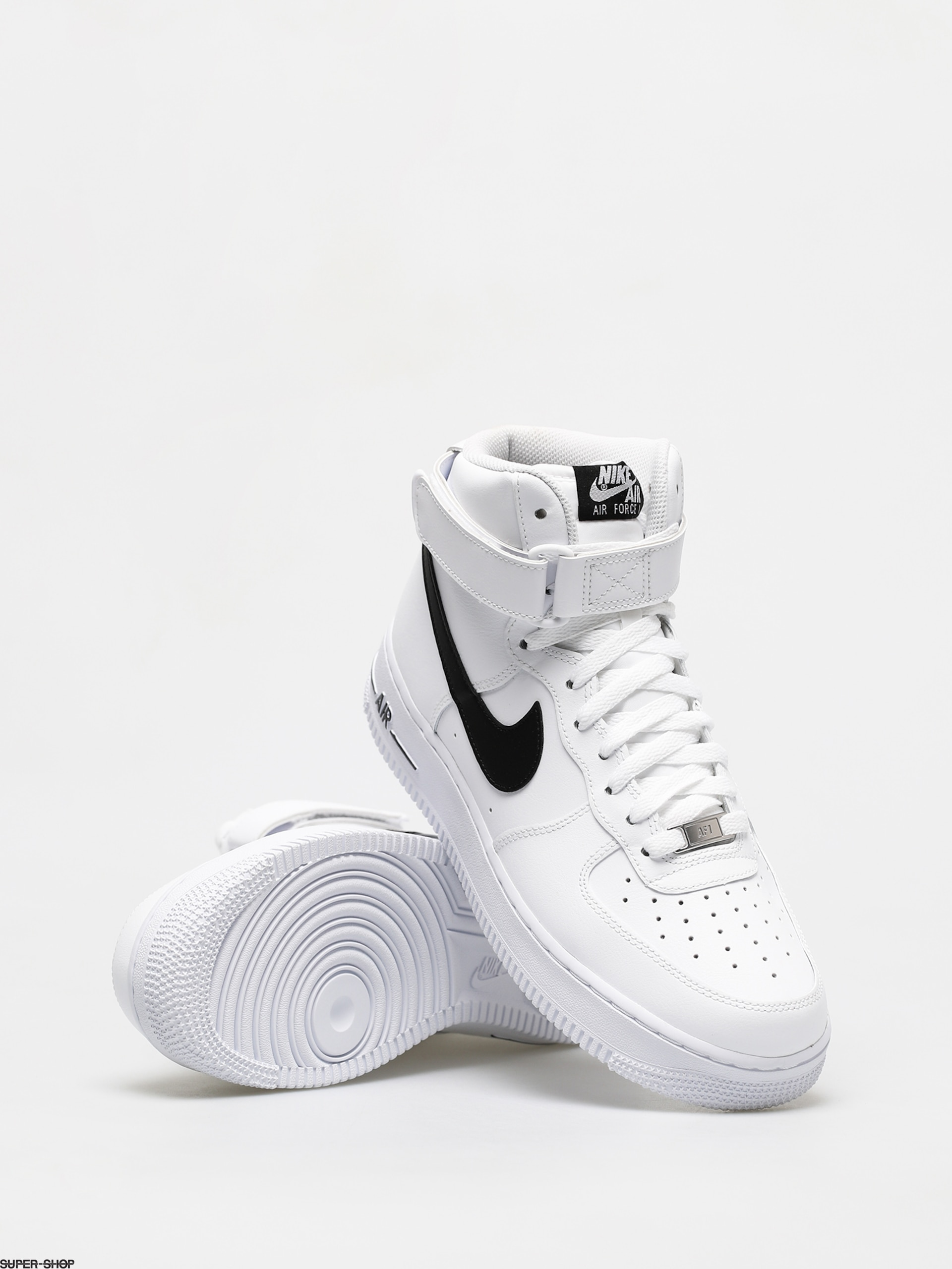 mejor autentico mejor baratas gran descuento Nike Air Force 1 High 07 Shoes (white/black)