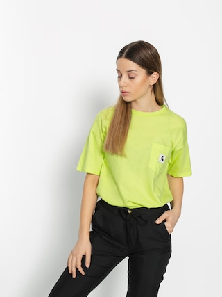 Carhartt WIP Carrie Pocket T-shirt Wmn (lime/ash heather)