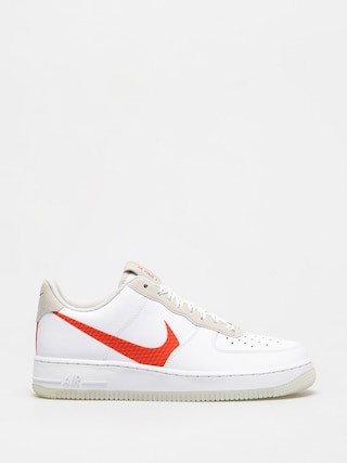 Nike Air Force 1 07 Lv8 Shoes (white/total orange summit white black)