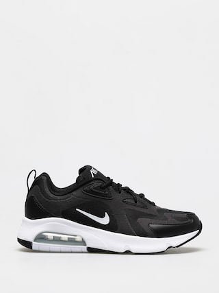 Nike Air Max 200 Shoes (black/white off noir metallic silver)