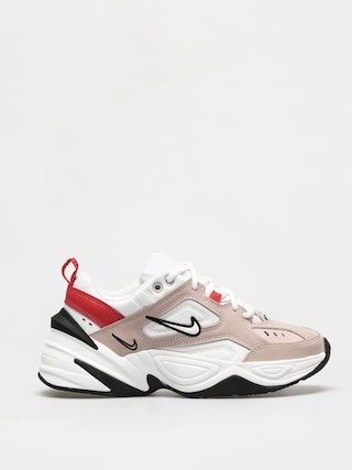 Nike M2K Tekno Shoes Wmn (fossil stone/summit white track red)