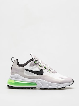 Nike Air Max 270 React Shoes (summit white/electric green vast grey)
