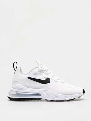 Nike Air Max 270 React Shoes Wmn (white/black metallic silver)